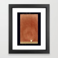 Yourself And Another Rhy… Framed Art Print