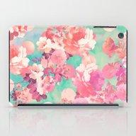 Romantic Pink Retro Flor… iPad Case