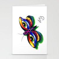 Butterfleyes Stationery Cards