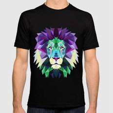 Lion SMALL Mens Fitted Tee Black