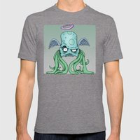 Space Alien Sci Fi Art B… Mens Fitted Tee Tri-Grey SMALL