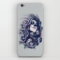 Coyolxauhqui iPhone & iPod Skin