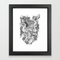The Six Swans Framed Art Print