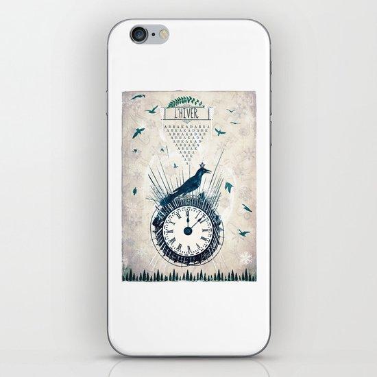 L'Hiver iPhone & iPod Skin