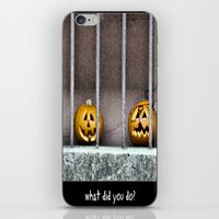 What did you do? iPhone & iPod Skin