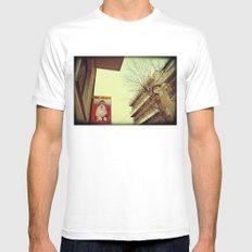 Dog and Beauty SMALL White Mens Fitted Tee