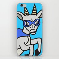The Mighty Flash Goat iPhone & iPod Skin