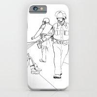 Pepper Spray(Illustration for Police Brutality Coloring Book) iPhone 6 Slim Case