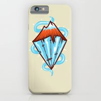 iPhone & iPod Case featuring diamond mountain by barmalisiRTB