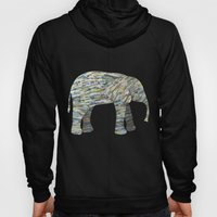 Elephant Paper Collage I… Hoody