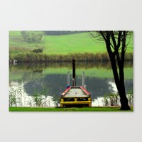A colourful Morning Canvas Print
