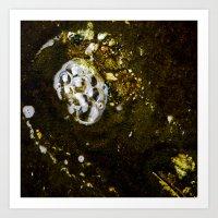 Bubbles In Los Angeles Art Print