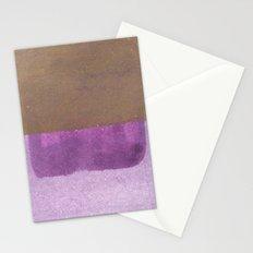 Purple blue to Purple Stationery Cards