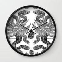 Serpent's Choir Wall Clock