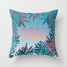 CALI VIBES Throw Pillow