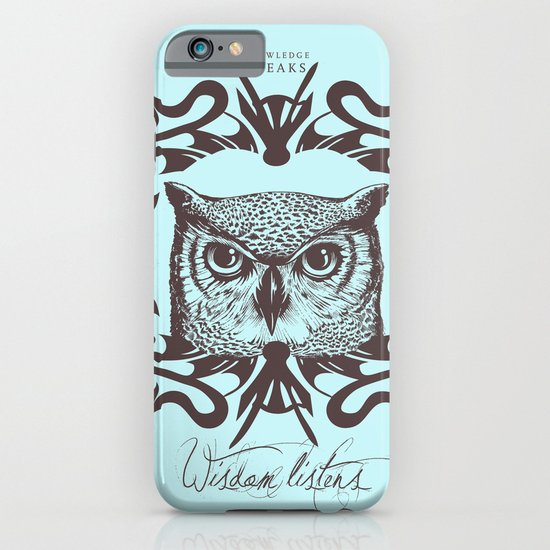Wisdom Listens iPhone & iPod Case