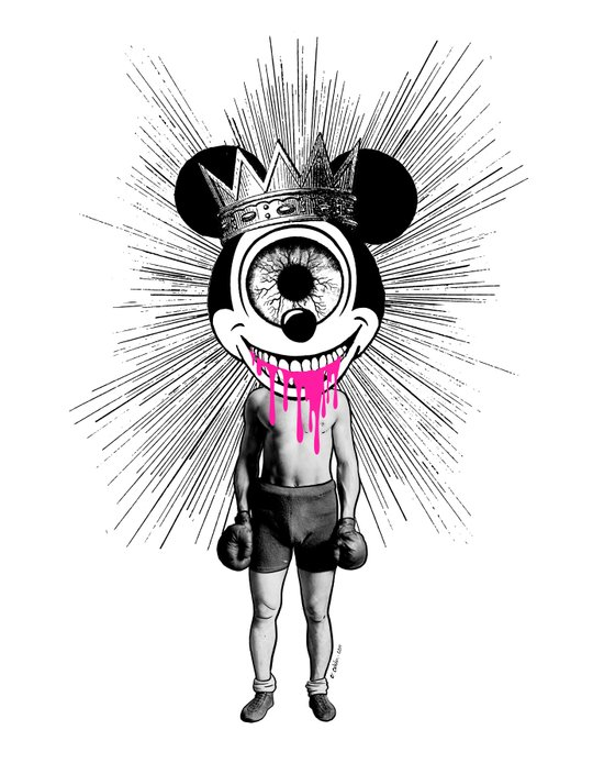 Fu…cked Up Celebrity Art Print