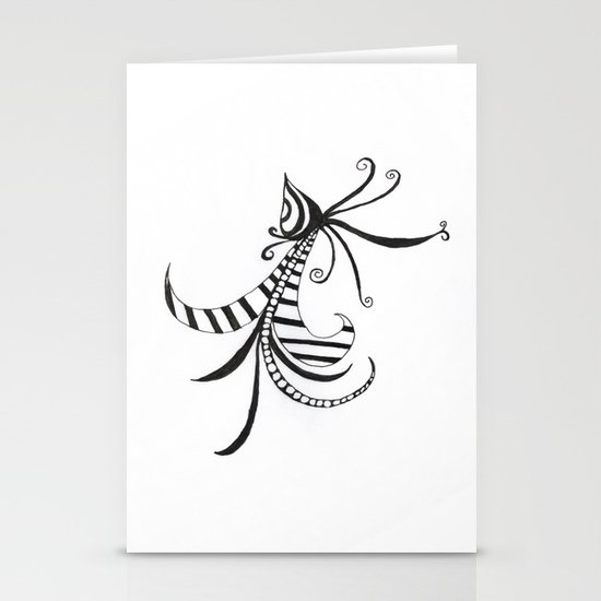 Feather Stationery Card