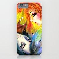 RAINBOW AND NIGHT iPhone 6 Slim Case