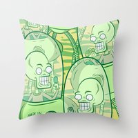 We Come In Peace II The Sequel G Throw Pillow