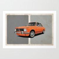 BMW 2002 Art Print