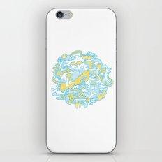 Spaghetti Mountain iPhone & iPod Skin