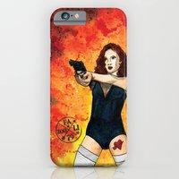 iPhone Cases featuring Bang Bang by Abominable Ink