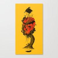 Nameless Hero Canvas Print