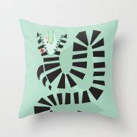 Sandworm Throw Pillow