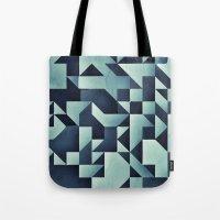 :: geometric maze V :: Tote Bag