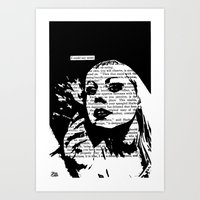 I Could Say More Art Print