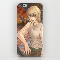 Adriel iPhone & iPod Skin