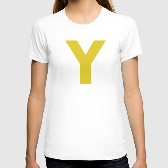 Y is for... T-shirt