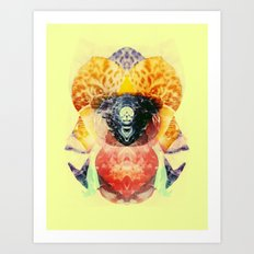 Tigrus Art Print