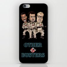 Ghostbuster - Otherbusters Glow Title iPhone & iPod Skin