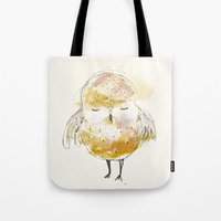 Just A Little Owl Tote Bag