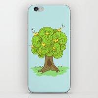 The Music Tree iPhone & iPod Skin