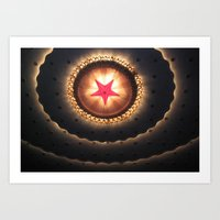 Star Layers Art Print