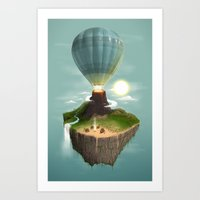 The Great Tropical Escape Art Print
