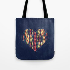 Interstellar Heart Tote Bag