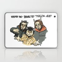 Where The Beastie Things… Laptop & iPad Skin