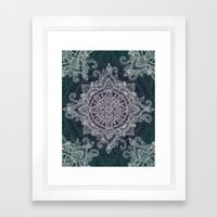 Mandala Magic  Framed Art Print