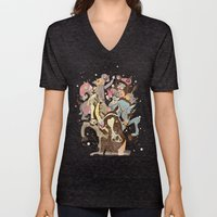 The Great Horse Race! Unisex V-Neck