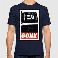 OBEY the Gonk Mens Fitted Tee Navy SMALL