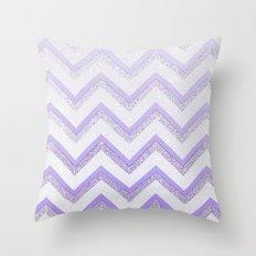 NUDE PURPLE Throw Pillow