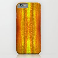 Fire in the sky iPhone 6 Slim Case