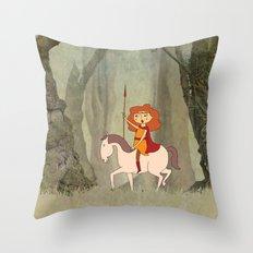 Boudica Throw Pillow