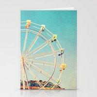 Boardwalk Ferris Wheel Stationery Cards