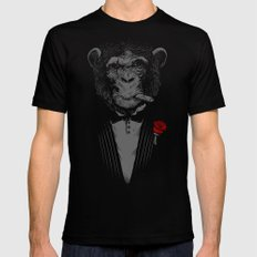 Monkey Business Mens Fitted Tee Black SMALL