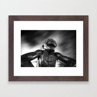 Laughing Face Framed Art Print